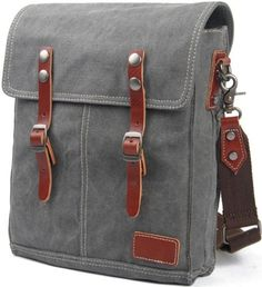 Zenness Casual College School Messenger Bag Fashion Canvas Satchel Shoulder Bag (Dark Grey) Zenness http://www.amazon.com/dp/B00JOY3GLS/ref=cm_sw_r_pi_dp_mavVtb0TF91Q7YR3