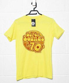 K-Billys Super Sounds Of The 70S T Shirt - Yellow Haze / 2XL