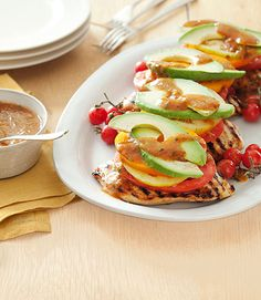 Sweet Chipotle Chicken Stacks - GoodHousekeeping.com