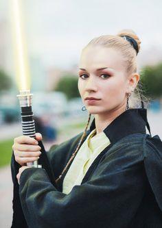 Jedi Apprentice by AnnieRagnarek