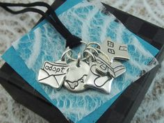 Adoption Story Necklace - I love this!