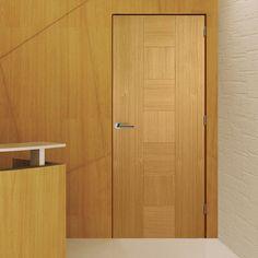 Bespoke Catalonia Oak Fire Rated Door - Prefinished.    #firebespokedoor #bespokedoor #madetoorderdoor #internaldoor #modernonteriordoor #unusualsizedoor