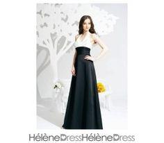 Elegant Ruched A-line Halter Foor-Length Bridesmaid Dresses
