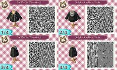 leather jacket animal crossing new leaf - Google Search