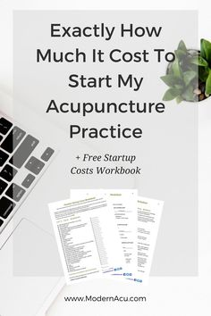 Wondering how much money you need to start your acupuncture business? I'll tell…