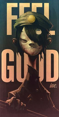 Noodle - Gorillaz FEEL GOOD on Behance