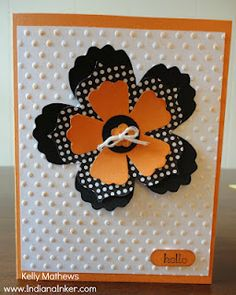 Indiana Inker - Flower Card  Stampin' Up!