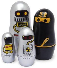 robo-ninja matryoshka