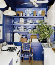 T Keller Donovan's Manhattan kitchen in Benjamin Moore Stunning