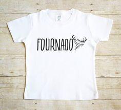Fourth Birthday Shirt - 4th Birthday Shirt - Boy's Fourth Birthday Shirt - Four Year Old Shirt - Boy's Birthday Shirt - Fournado