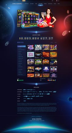 Casino Website on Behance Party Food Themes, Casino Party Foods, Casino Theme Parties, Casino Movie, Casino Games, Casino Royale, Casino Night, Web Design, Casino Poker