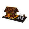 Halloween Gingerbread House [LAD-LADGNGHLW] - $23.95 : Mainly Minis Dollhouse Miniatures, Huge selection of dollhouse miniatures with free USA shipping