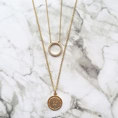Complete your #ZforAccessorize collection by layering coin and eternity hoop…