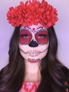 Mais uma make de halloween, feita por mim! Insta: @moniqueemakeup #halloweencostume #halloween #halloweenmakeup #halloween2017