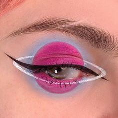 Dramatic eyes make up looks – makeup products best Makeup Eye Looks, Eye Makeup Art, Colorful Eye Makeup, Crazy Makeup, Cute Makeup, Makeup Inspo, Eyeshadow Makeup, Makeup Inspiration, Makeup Ideas