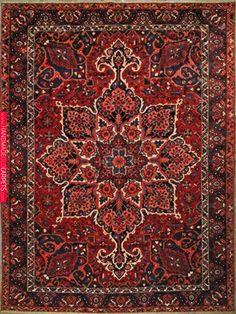 Bakhtiari Persian Rug Lieben Sie das 6-Punkt-Medaillon     Bakhtiari Persian Rug Lieben Sie das 6-Punkt-Medaillon Source by vasvasart