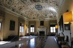 Sala delle grottesche - Castello della Manta