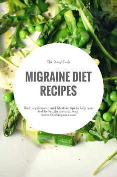 Looking for HYH, additive free, migraine diet recipes? The Dizzy Cook has creati. Migraine Triggers, Chronic Migraines, Migraine Relief, Chronic Pain, Fibromyalgia, Menstrual Migraines, Chronic Illness, Headache Diet, Salads
