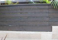 Cedar Fence with Behr Cordovan Brown Stain Color | 1000#behr #brown #cedar #color #cordovan #fence #stain Modern Landscape Design, Contemporary Landscape, Modern Design, Contemporary Gardens, Fence Styles, Aj Styles, Fence Landscaping, Modern Landscaping, Indoor Garden
