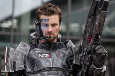 Zephon Cosplay  (Commander Shepard) #02 by take7x on deviantART, Mass Effect . Look at the detail!