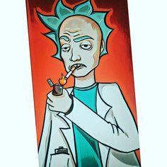 "Polubienia: 56, komentarze: 1 – Joanna (@jamjestjoanna) na Instagramie: ""#art#rickandmorty#cartoon#adultswim#rick#polishgirl#polishartist#smoke#love#that#show#graphic#style#girl#drawing#fangirl#fan…"""