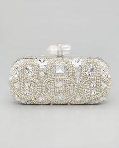 This Marchesa clutch would be the perfect accessory for the simplest of dresses.