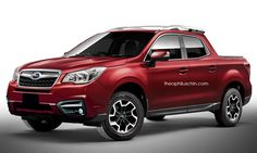 What if Subaru based the Baja off the Forester