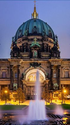 Berlin, Germany - Berlin may be one of the best-value cities in Europe but for tourists those euros can start to add up after days of museum-hopping and nights of clubbing. Save your cents by taking in some of the city's many freebies. Read more: http:// Places Around The World, Travel Around The World, Around The Worlds, Berlin Travel, Germany Travel, Places To Travel, Places To Visit, Top 10 Destinations, Cities In Europe