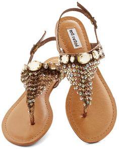 Stylish Chain Sandals