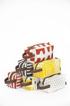 Rainbow of Dopp Kits by MAIKA