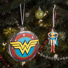 DC Wonder Woman Christmas Ornamenta