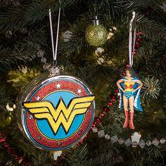 DC Wonder Woman Christmas Ornamenta