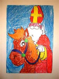 Raamdecoratie Sinterklaas