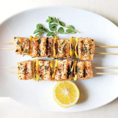 43 Grilled Fish Recipes for Your Next BBQ | Epicurious Trout Recipes, Grilled Salmon Recipes, Spicy Salmon, Lemon Recipes, New Recipes, Lemon Spaghetti, Grilled Halibut, Cooking Salmon, Lemon Chicken