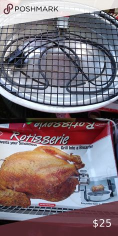 indoor smokeless grill with Rotisserie Vintage 1993 Dazey Indoor Electric Bar-B-Grill with Rotisserie Dazey Kitchen BBQ & Grilling Tools Electric Bbq Grill, Grilling, Household, Appliances, Indoor, Tools, Bar, Retro, Cooking