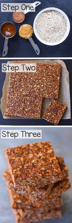 Chocolate Oatmeal No Bake Bars that are healthy and clean eating and vegan too