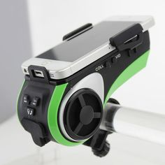 Bluetooth Speaker Smart Waterproof Speaker Bicycle music player Mp3 player LED Flashlight Power bank 4400mah Bike Audio Speaker