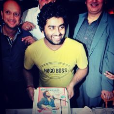 Arijit with his cake