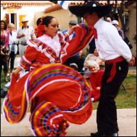 Dance Around the World - Traditional Mexican dance
