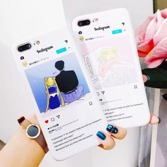 Kawaii Phone Case, Cute Phone Cases, Aesthetic Phone Case, Tablets, Mobile Cases, Iphone Case Covers, Samsung, Iphone 8 Plus, Instagram