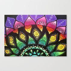 Rainbow Flower by Kimi
