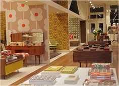 Orla Kiely Boutique - The Irish-born, London-bred 'designer of hippy-chic prints' opens up her first NY shop. (Clothing/gifts - Soho)