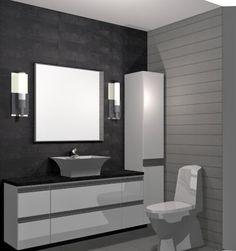 Aiheeseen liittyvä kuva Bathroom Lighting, Toilet, Mirror, Bathroom Ideas, Furniture, Home Decor, Bed, Google, Washroom