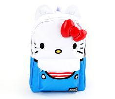 7ace9f2697 Hello Kitty Backpack  Overalls