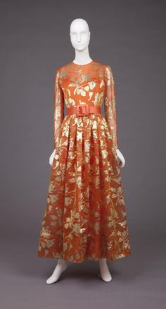 Dress Norman Norell, 1960s The Goldstein Museum of Design