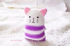 Crochet Cat crochet kitten knitted cat knitted kitten
