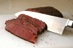 Recipe: Venison Pastrami makes awesome Reuben sandwiches! The meat on its own is better than most jerky ive ever had.
