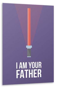 Kommt ins Kinderzimmer: I am Your Father! #StarWars #Design #MovieArtWork