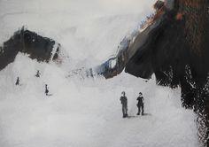 ABK Mortsel opdracht 6 figuur/landschap werk van Catherine