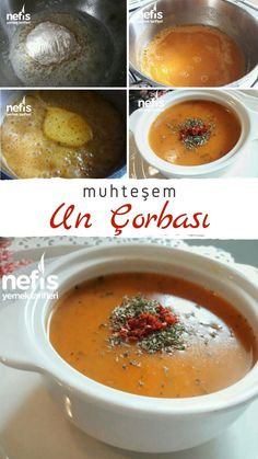 Turkish Kitchen, Good Food, Yummy Food, Turkish Recipes, Iftar, Soup Recipes, Food And Drink, Dishes, Fruit